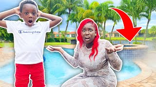 We Cant Believe This Happened In Our Pool *Caught On Camera*