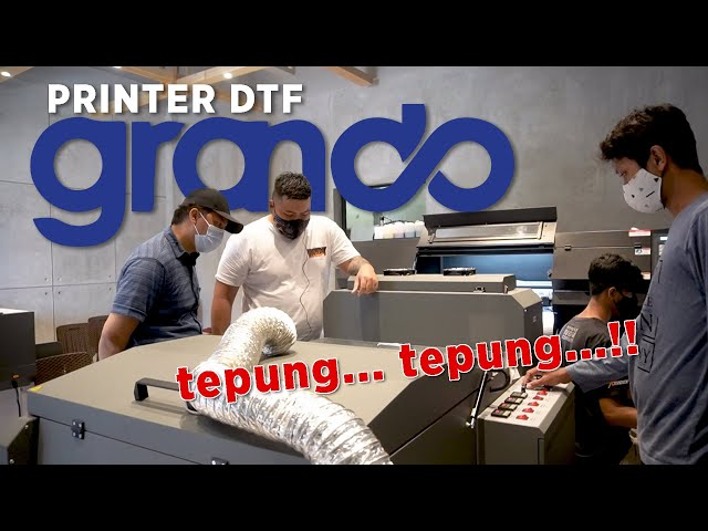 Grando Printer DTF Testimonial : Grafera Digital Printing, Solo