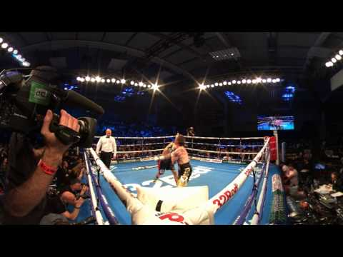Lyon Woodstock knocks out Paul Holt | 360 Virtual Reality Boxing   BT Sport