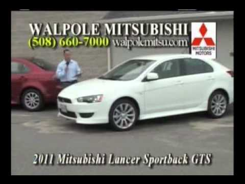 2011 Lancer Sedan & Sportback  - Walpole Mitsubishi Car Time August 2