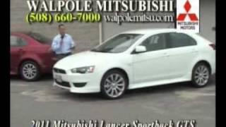 2011 Lancer Sedan & Sportback  - Walpole Mitsubishi Car Time August 2