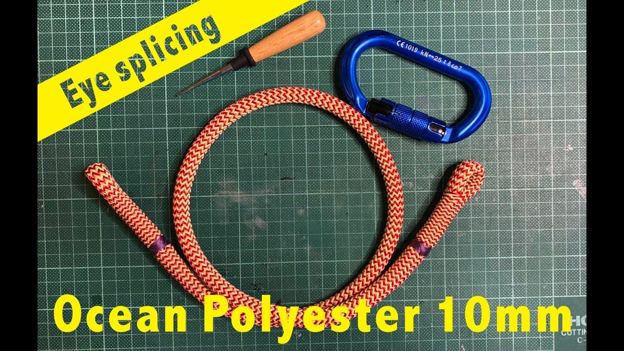 Ocean Polyester 10 mm eye to eye hitch cord