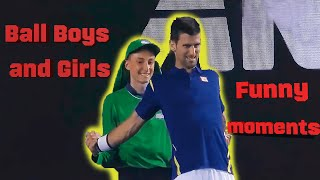Bloopers   Funny Moments   Ball Boys and Girls   Sports Fails