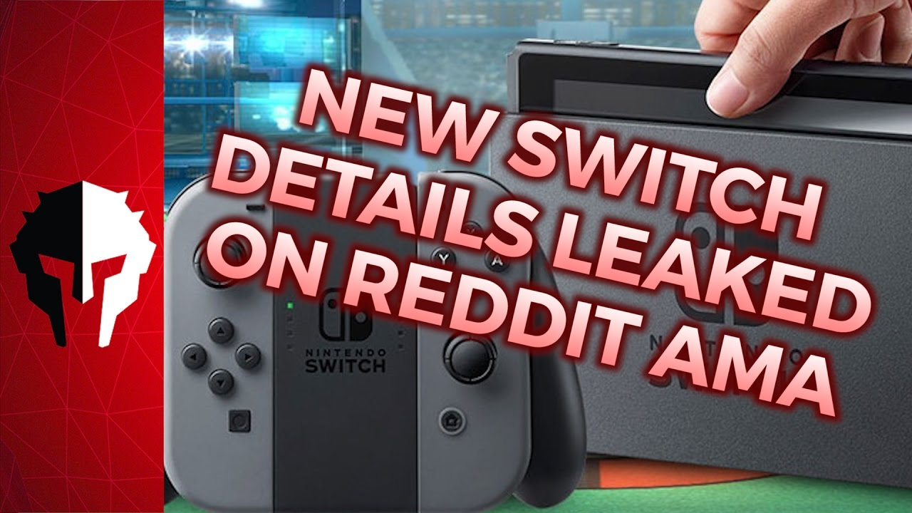 LATEST Nintendo Switch Leaks From Reddit AMA - PVP Live - Nintendo Switch  News