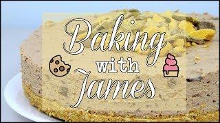 Baking with James! | Honeycomb Cheesecake