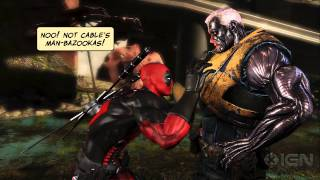 Deadpool: The Game's Juvenile But Awesome Trailer