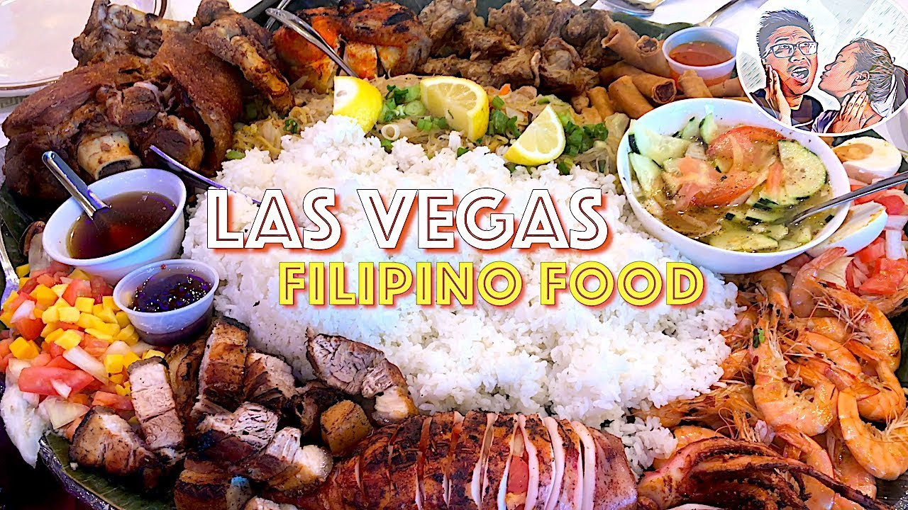 Las Vegas Filipino Food D Pinoy Joint Restaurant Authentic Filipino Food I Little Manila
