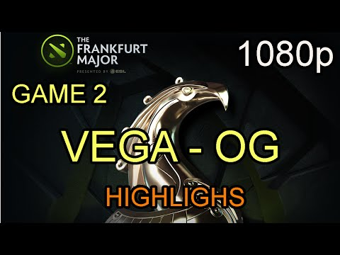 Vega vs OG Game 2 The Frankfurt Majors 2015