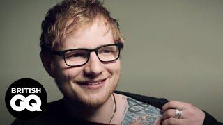 Ed Sheeran Reveals his Favourite New Tattoos | GQ Cover Stars | British GQ