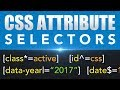 How To Use CSS Attribute Selectors