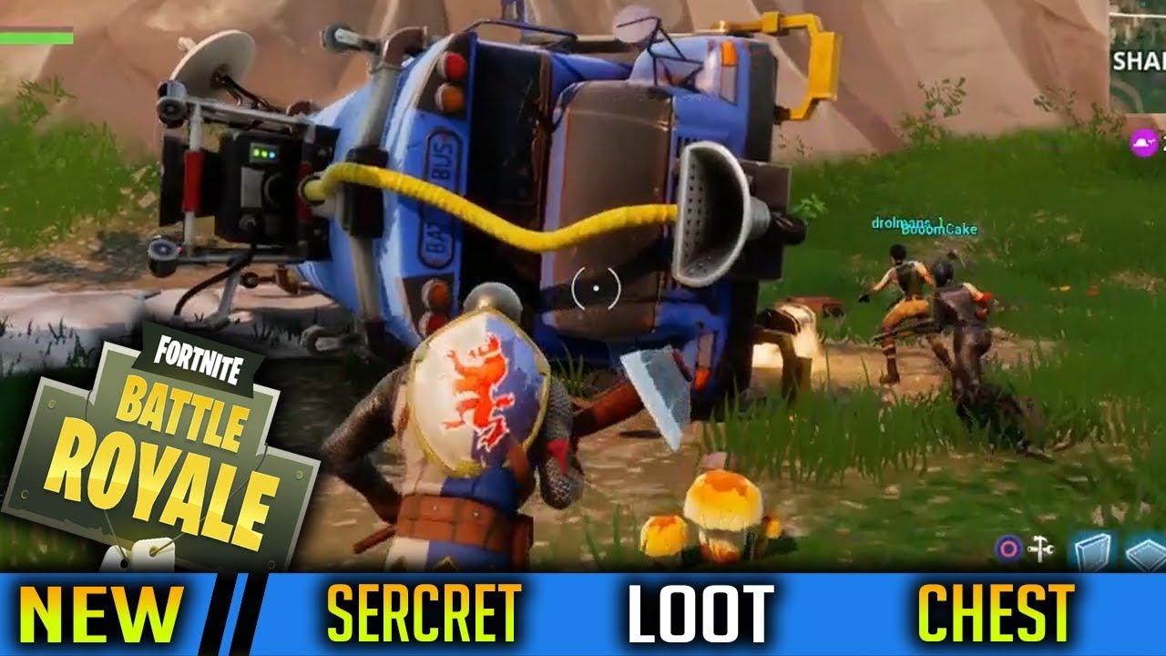 New Secret Loot Chest Spot Found In Fortnite Battle Royale