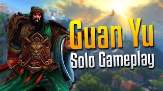 Smite: NEAR PERFECTION!- Guan Yu Solo Gameplay