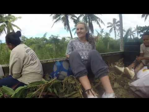 Travelling through Tonga