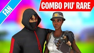 THE COMBOs with Fortnite Fan's MOST RARE SKIN ⛏️ - How Many Do You Have? *