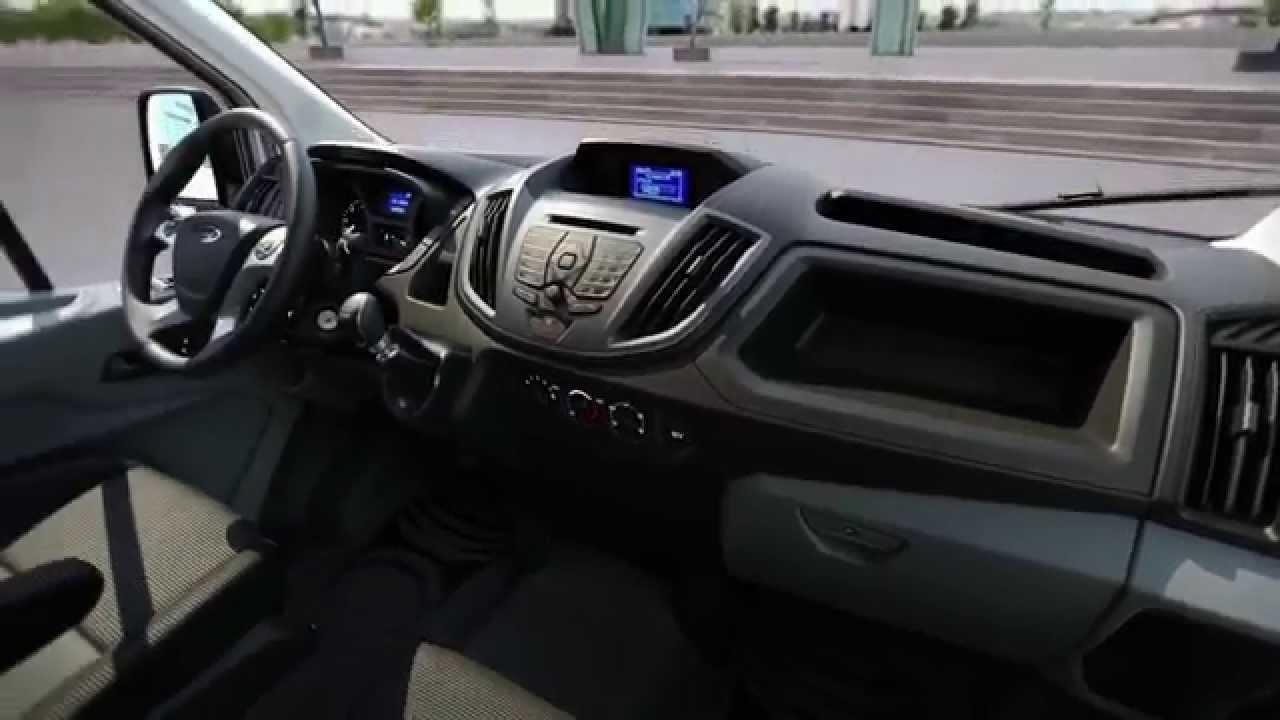 El Interior De La Nueva Ford Transit En Detalle | Autocosmos   YouTube