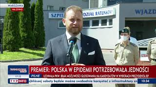Konferencja prasowa premiera Mateusza Morawieckiego - 2 czerwca 2020 r.