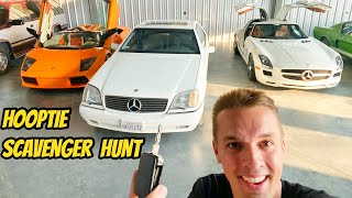 homepage tile video photo for Whoever finds this key, wins my RARE MERCEDES S500 COUPE! (Hooptie Scavenger Hunt)