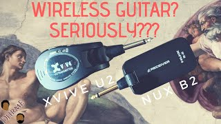 NUX B-2 vs XVive U2 - In-depth Comparison - Cheap Wireless Guitar Audio System | DHRME #47