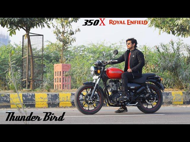 RE Thunder Bird 350X Review   Top Speed