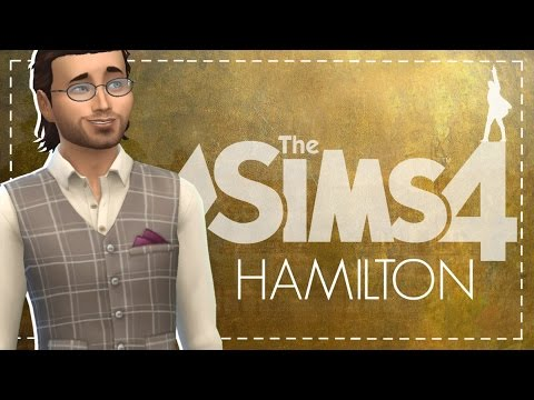 The Sims 4: Hamilton Let's Play #6 | FIRST LAMS KISS