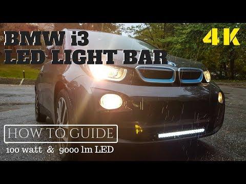 "BMW i3 20"" LED Light bar DIY"