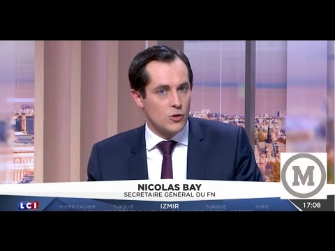 Nicolas Bay - l'Enjeux c'est l'Existence de la France 05.01.2017