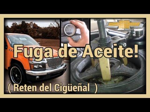 Chevy El Paso >> Fuga de Aceite,Reten de Cigüeñal, Chevrolet Colorado - YouTube