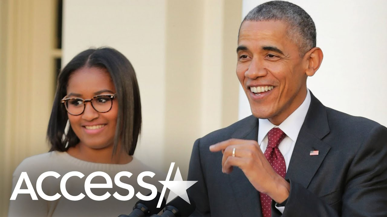 Barack Obama Says Sasha Thinks Some Of Her Music Is Too Hip For Him