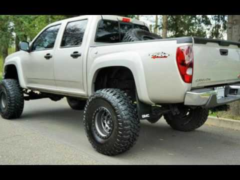 2006 GMC Canyon SLE 4dr Crew Cab STRAIGHT AXL SWAP LIFTED FUEL for sale in Milwaukie, OR - YouTube