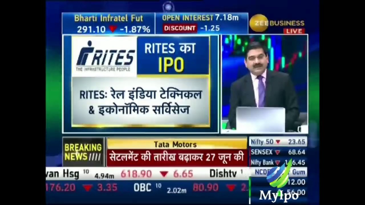 Rites ipo review by anil singhvi