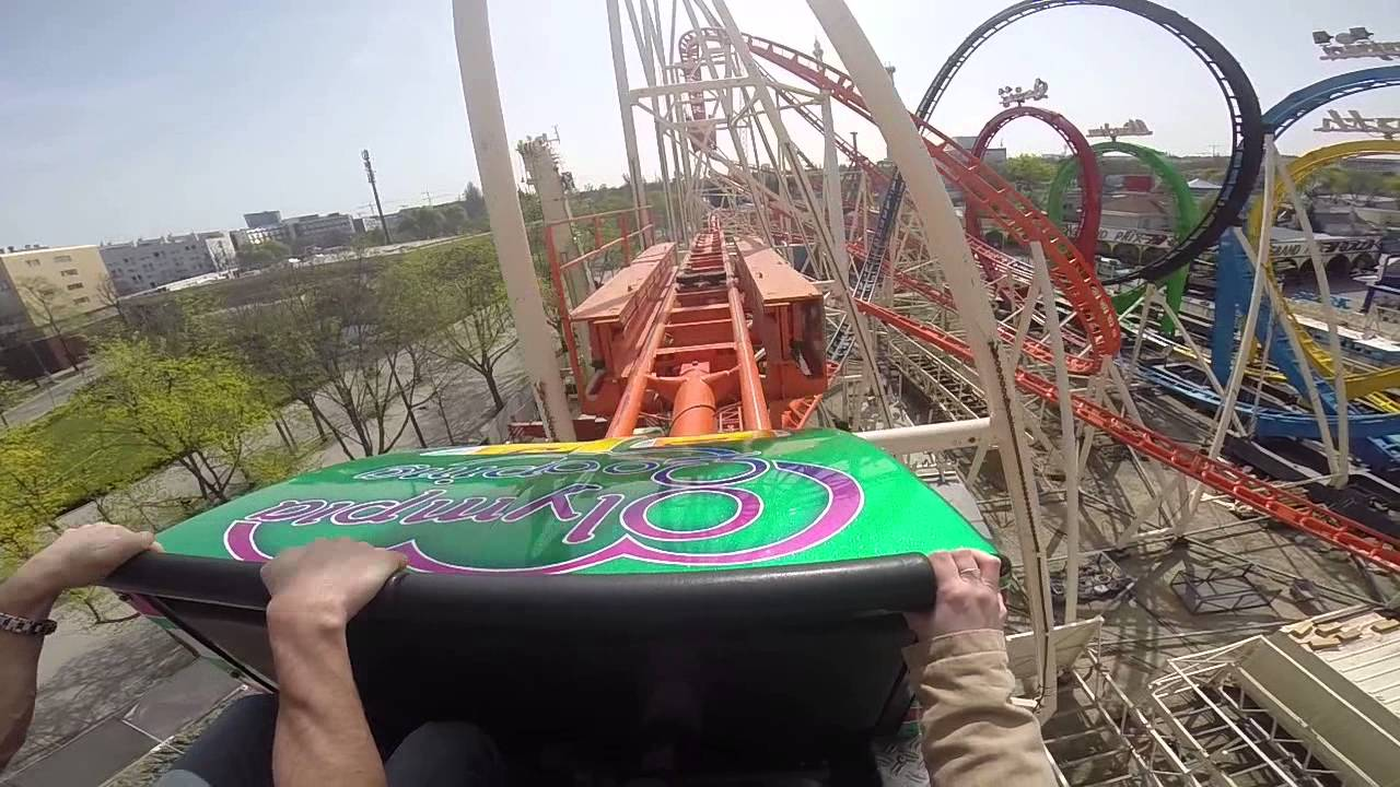 Testfahrt Olympia Looping Prater Youtube