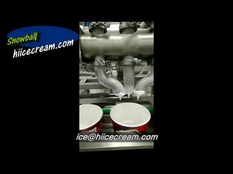 Ice Cream Filling Equipment | Filling Machines For Ice Cream Factory | Ice Cream Filler