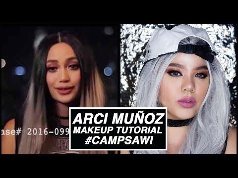 ARCI MUNOZ Camp Sawi Trailer Makeup Tutorial - CELEBRITY MAKEUP #5 | HelenOnFleek
