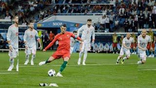 Криштиано Роналдо против Испания
