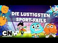 Toon Cup | Die lustigsten Sport-Fails | Cartoon Network