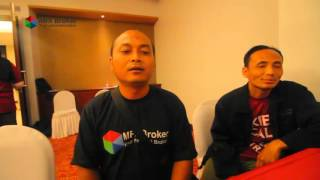 Video Documentation of Seminar & Workshop Forex Trading by MFX Broker @Kediri