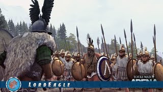 Total War Arena. Сколько лошадь не корми, а у гоплита все равно больше