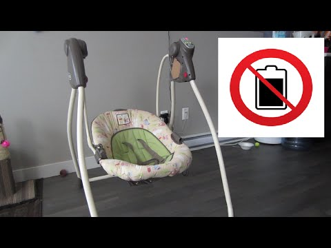 Baby Swing Battery LIFEHACK - TommyTV