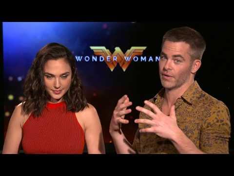 Wonder Woman Interview - Gal Gadot & Chris Pine