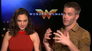 Wonder Woman Interview - Gal Gadot & Chris Pine