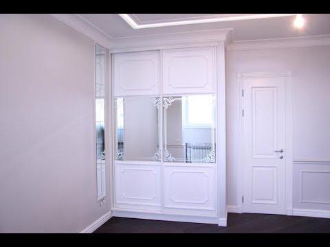 встроенный шкаф купе в спальню шкаф классика встроенный в нишу