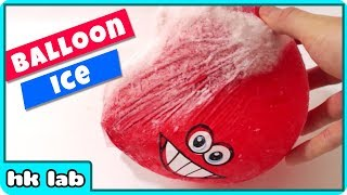 Cool Ice Balloon with Steady Hand Game Fun Science Experiments To Do At Home