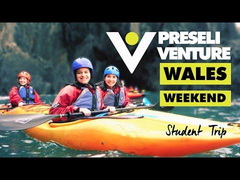 A unique student weekend trip exploring Wales