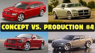 Concept Cars vs. The Real Thing - 2003 Dodge Magnum SRT8 (+ 2001 Super 8 Hemi)