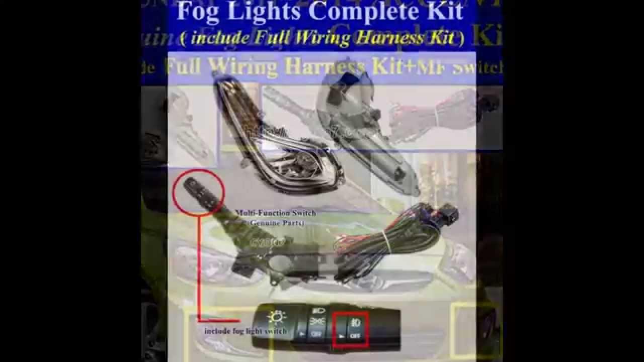Hyundai Accent Fog Light Wiring Diagram