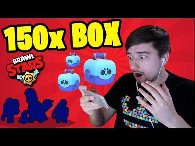 Brawl Stars CZ/SK | 150x Box Opening! Mythic a Epic! 3x Nový Brawler!! | Jakub Destro
