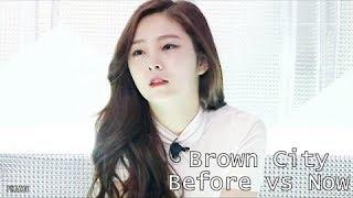 Eunwoo (PRISTIN) - Brown City (2013 vs 2017)