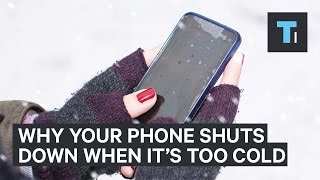 The reason why your iPhone stops working when it gets too cold