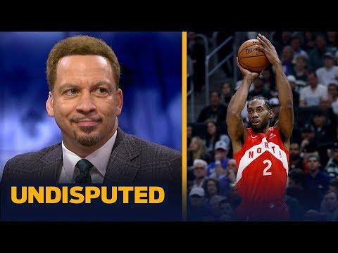 Chris Broussard reacts to Kawhi Leonard's 35-pt performance in Game 5 | NBA | UNDISPUTED
