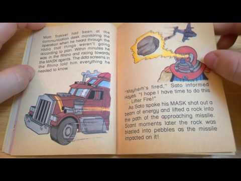 M.A.S.K Audio Book Double, Double Cross Memory Moment